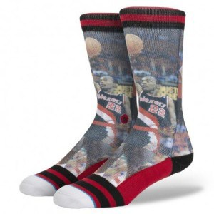Stance NBA Legends Socks Clyde Drexler