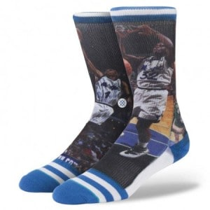 Stance NBA Legends Socks Shaq and Penny