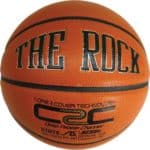 The Rock is a Premium Indoor Composite Leather Basketball