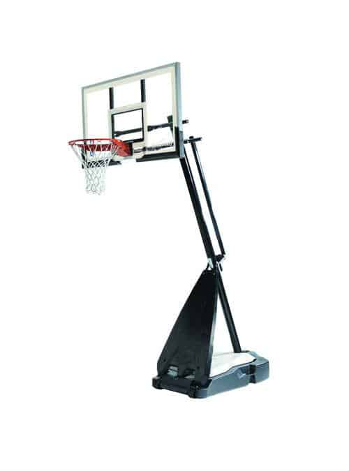Best Portable Basketball Hoop - Spalding Hybrid