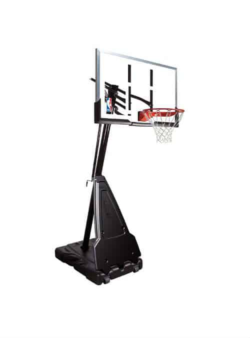 Best Portable Basketball Hoop - Spalding 60 Inches Portable Hoop