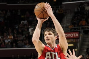 Kyle Korver makes an astounding 43% of his three point attempts.