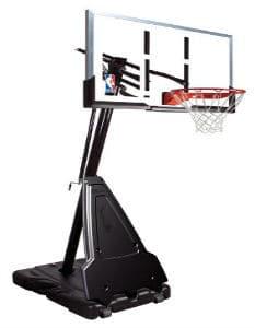 spalding 60 inch basketball hoop slider
