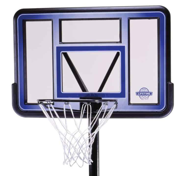 lifetime 1270 portable basketball system - backboard