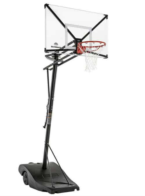 Best Portable Basketball Hoop - Silverback NXT