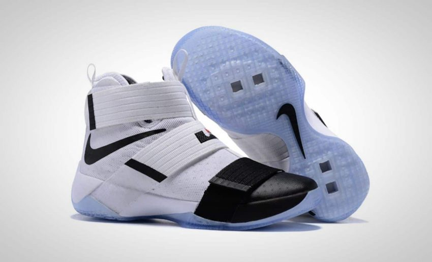 free shipping 741f0 aba9f clearance lebron soldier 10 purple and white yarn 73524 6a5f6