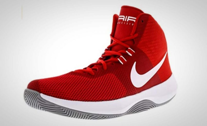 Enjoy the best of both worlds—the Nike Men s Air Precision basketball shoe  offers enhanced high-top ankle support while trimming down the back for  better ... f0e903252224
