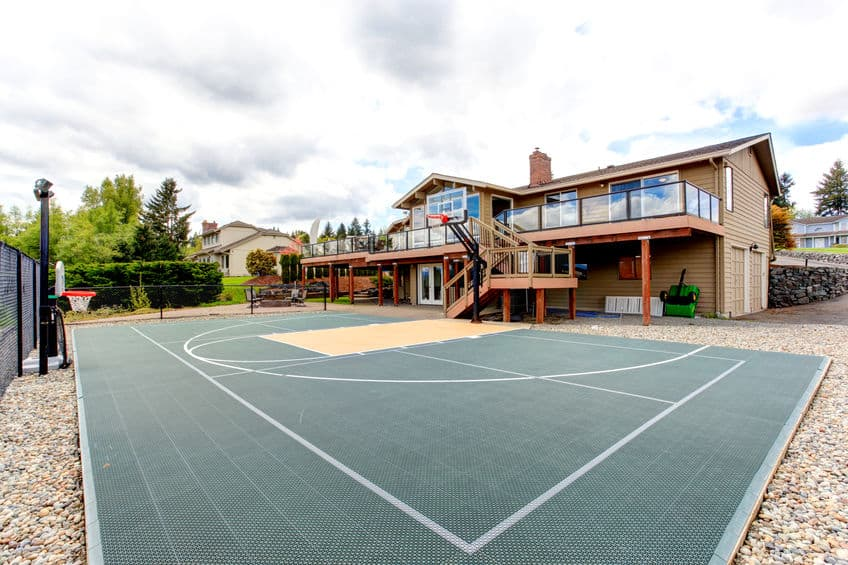 How Much Does a Backyard Basketball Court Cost ...